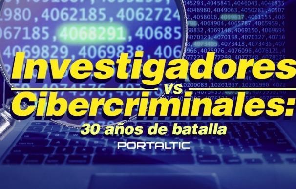 Investigadores VS Cibercriminales: 30 años de batalla por la seguridad en la Red