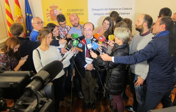 """Iceta ve """"cambio de actitud"""" del Gobierno con Catalunya pero le pide hechos concretos"""