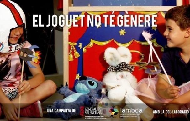 El Consell pone en marcha una campaña contra los estereotipos sexistas en los juguetes