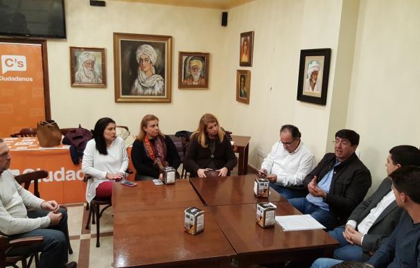C's traslada su apoyo y solidaridad a los municipios castigados por el temporal en la provincia