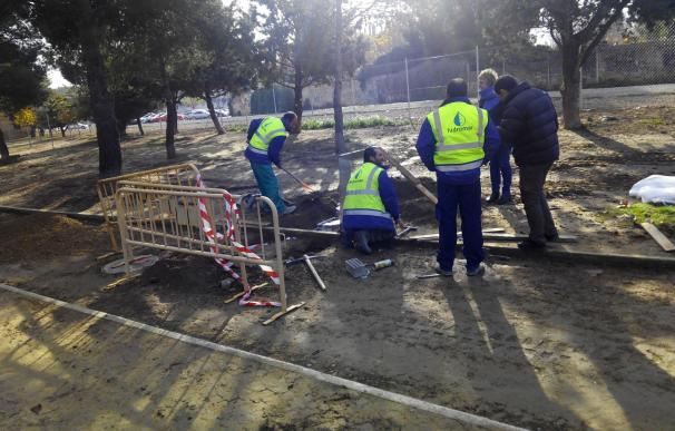 El Ayuntamiento de Huesca acondiciona dos zonas de esparcimiento canino