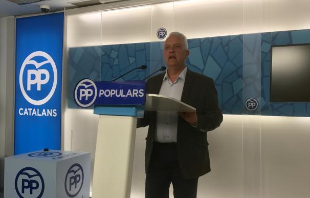 """Rodríguez (PP) dice que el acto unitario del Govern responde a las """"traiciones"""" de PDeCAT y ERC"""
