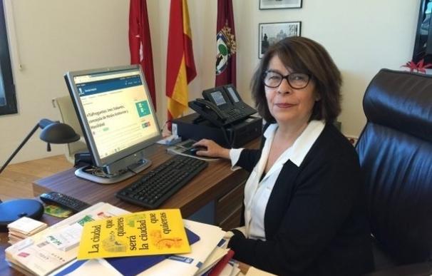 Inés Sabanés afirma que este año hay inversiones de tratamiento de la Gran Vía como ampliación de aceras