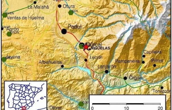 Sentido en una decena de municipios un terremoto de magnitud 3,9 con epicentro en Nigüelas (Granada)