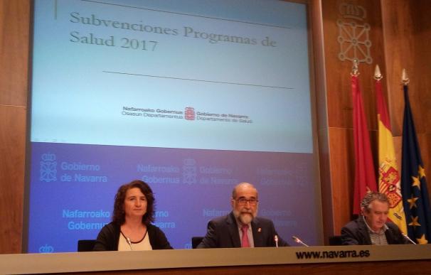 El Gobierno de Navarra destina 1,86 millones para programas de prevención y promoción de salud en 2017