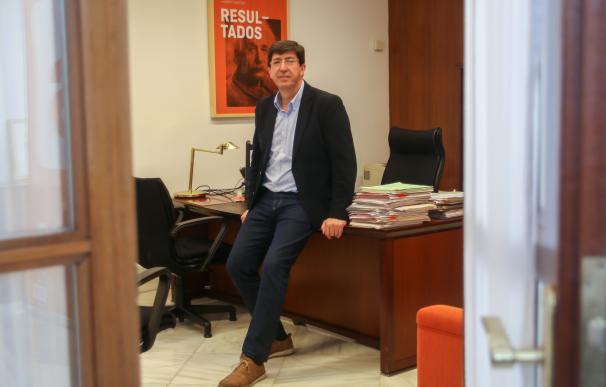 """C's """"tomaría medidas"""" si Susana Díaz """"no cumpliera con Andalucía"""" al compatibilizar Junta y liderazgo del PSOE"""