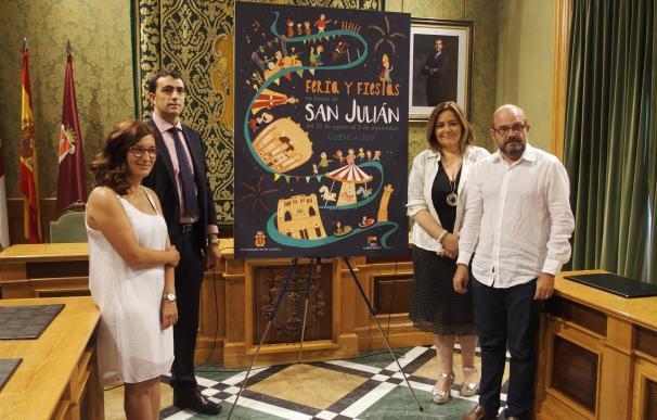 Juegos populares, monumentos de Cuenca, atracciones y la verbena de San Julián en el cartel de la Feria de 2017