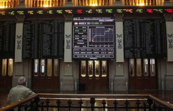 La bolsa española abre con descensos y el Ibex se aleja de los 8.600 puntos