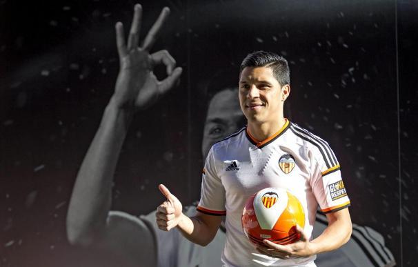 Enzo Pérez ha llegado a Valencia a cambio de 25 millones de euros.