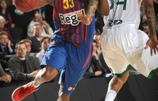 El Barça Regal continúa su escalada con una contundente victoria ante el invicto Siena