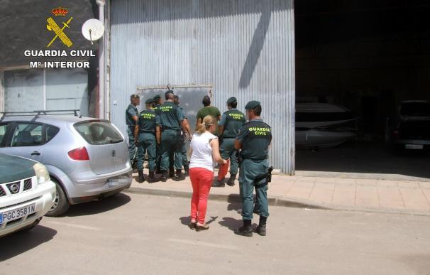 Guardia Civil desmantela mayor punto de venta de marihuana de la comarca del Mar Menor de los dos últimos años