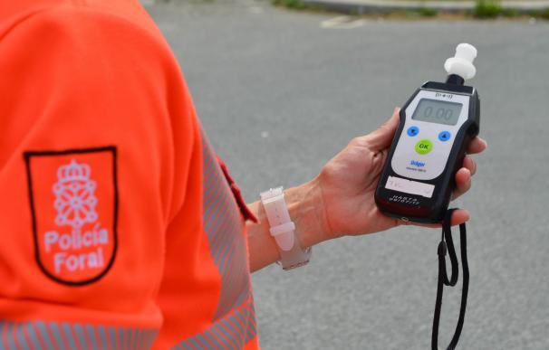 Cuatro investigados por delitos contra la seguridad vial en los últimos días en Navarra