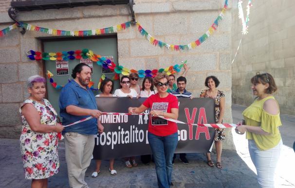 """El movimiento ¡Hospitalito ya! inaugura """"de manera simbólica"""" el centro por su """"escepticismo"""" a que lo abra la Junta"""