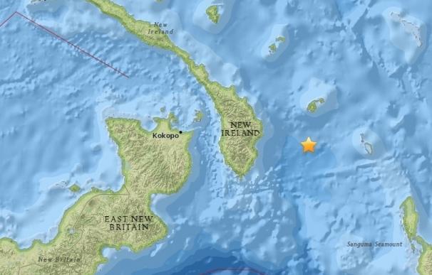 Un terremoto de magnitud 8 sacude las costas de Papúa Nueva Guinea