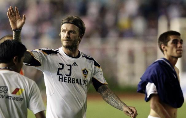 David Beckham se entrena con el Arsenal para mantener la forma
