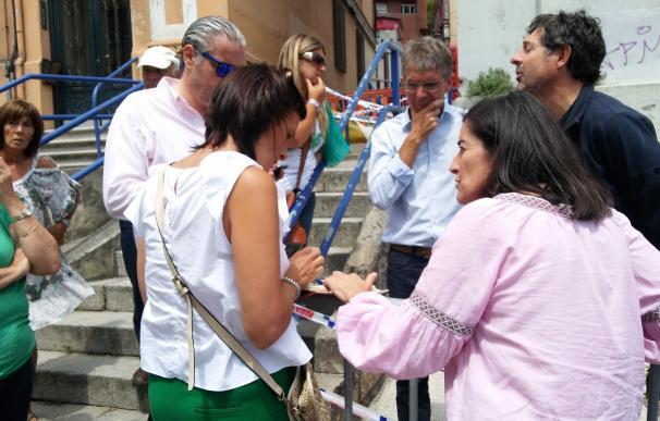 Ayuntamiento y Gobierno ponen a disposición de afectados por derrumbe de Sol nueve viviendas en alquiler