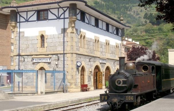 El Museo Vasco del Ferrocarril pondrá en circulación cuatro trenes de vapor entre el 12 y el 15 de agosto