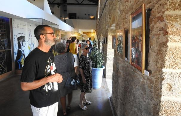 El restaurante Aponiente de Ángel León en El Puerto expone la muestra 'Papirosaicos' de Keka Raffo