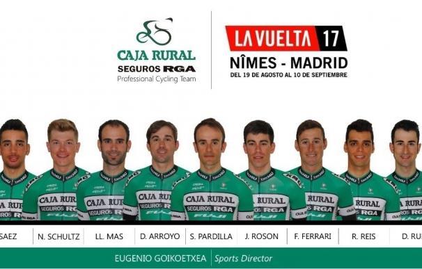 David Arroyo y Sergio Pardilla liderarán al Caja Rural en la Vuelta a España