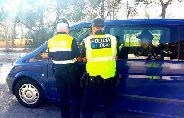 Calvià multa a tres 'taxi pirata' con 18.003 euros e inmoviliza sus vehículos