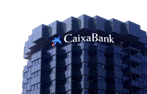 Imagen de la sede de CaixaBank.