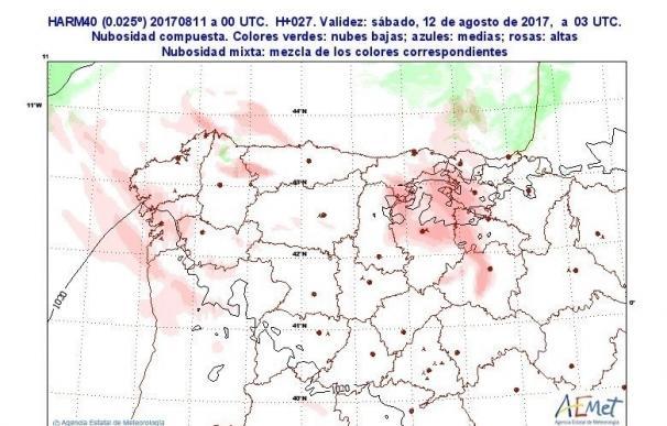 Castilla y León registra cinco de las diez temperaturas más bajas del país esta noche