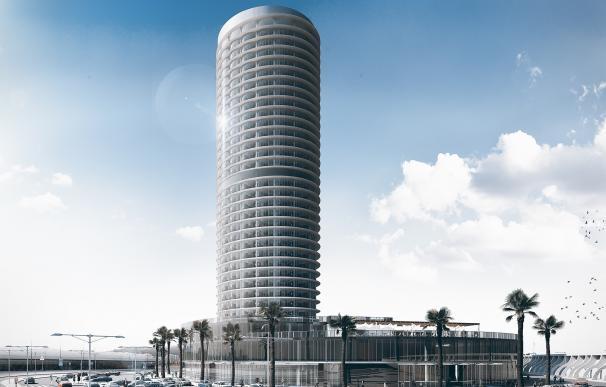 """Ecologistas presenta diez alegaciones al hotel del puerto, """"un artefacto que distorsiona el paisaje de la bahía"""""""
