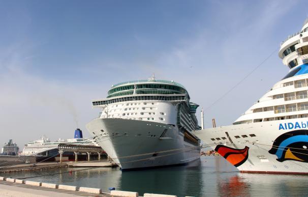 Andalucía recibe 367.231 cruceristas en el primer semestre, un 12,8% más que en el mismo periodo de 2016