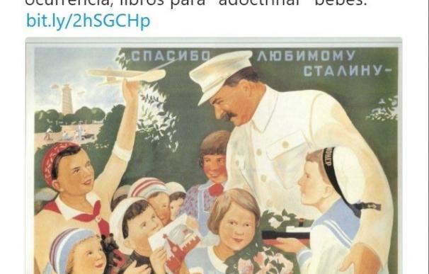 """PP de Madrid compara a Carmena con Stalin por querer """"adoctrinar"""" regalando libros a recién nacidos"""