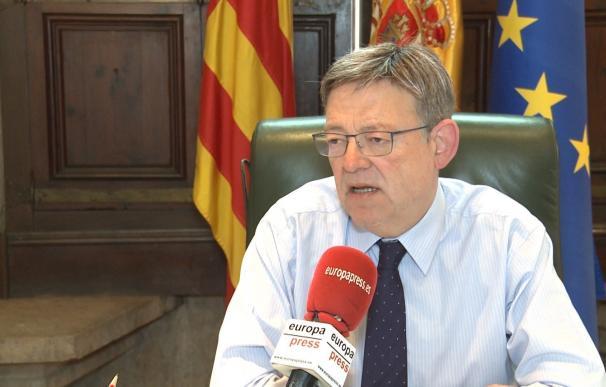 """Ximo Puig cree """"evidente"""" que no hay mayoría alternativa que justifique una moción de censura del PSOE contra Rajoy"""
