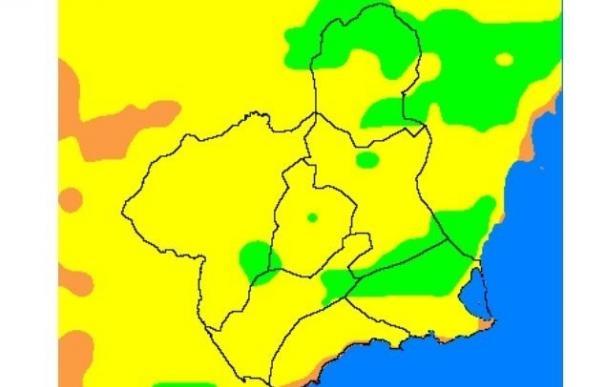El riesgo de incendios forestales es alto en toda la Región excepto en Altiplano, que es moderado