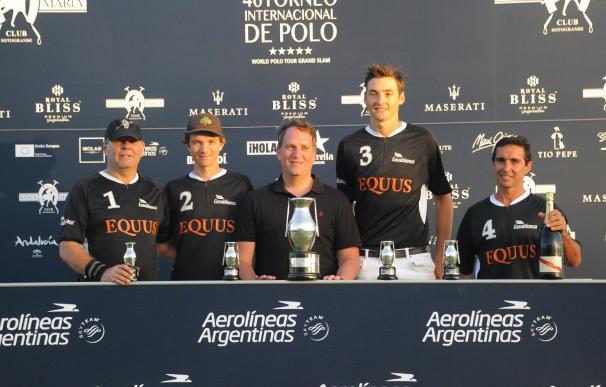 Equus Polo Team se alza con la Copa de PlataAerolíneas Argentinas de Mediano Hándicap
