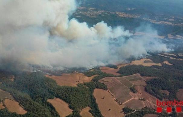 Extinguido el incendio de Artés tras quemar 367 hectáreas en una semana