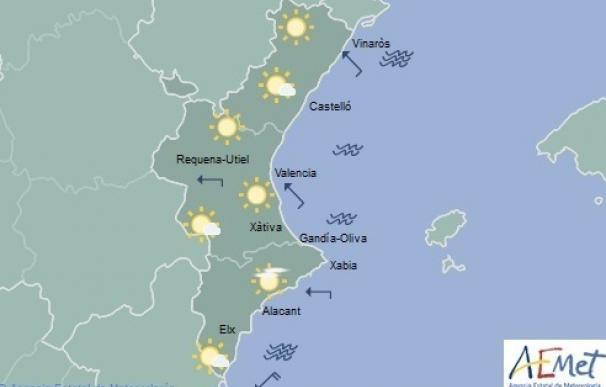 Cielos despejados y temperaturas sin cambios con máximas suaves por debajo de 30 grados