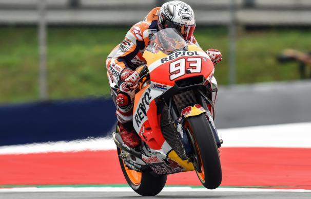 Márquez confirma su dominio en MotoGP y se hace con la pole; Lorenzo, tercero