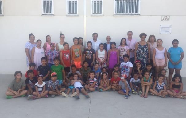 Las escuelas de verano de Diputación llegan a cerca de un centenar niños de Vera y Pulpí