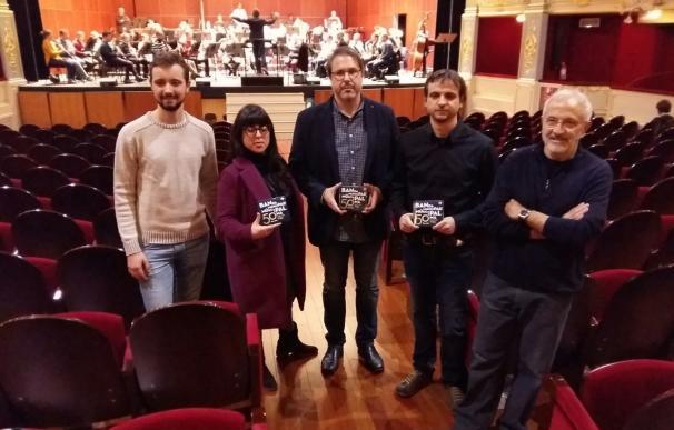 La Banda Municipal de Música celebra sus 50 años de vida con un concierto en el Teatro Principal y un doble CD