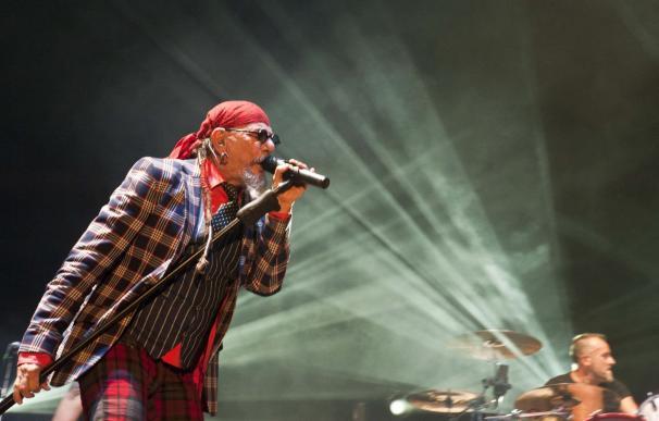 El Drogas inauguró anoche la tercera edición de 'Rock en la Feria'