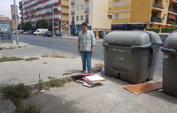 """PP pide actuaciones en la calle Arroyo ante """"la suciedad, falta de mantenimiento y el deterioro del asfaltado"""""""