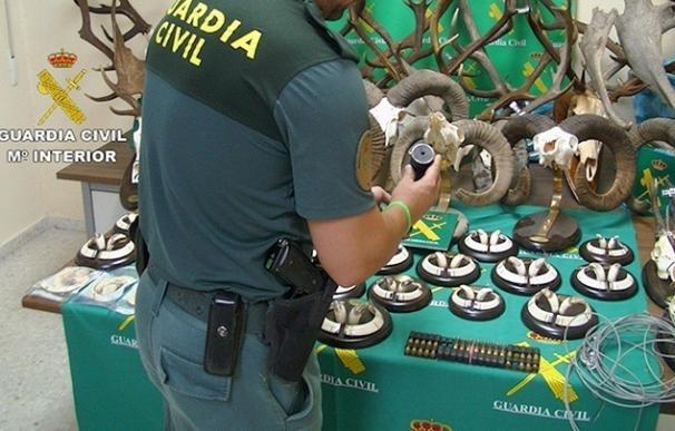 Cinco detenidos y tres investigados vinculados a un grupo dedicado a la caza furtiva en Saucedilla (Cáceres)