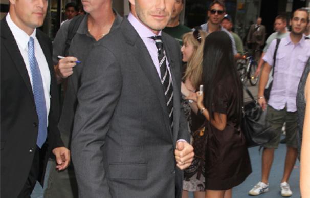 David Beckham es nombrado el 'Hombre más sexy del planeta'
