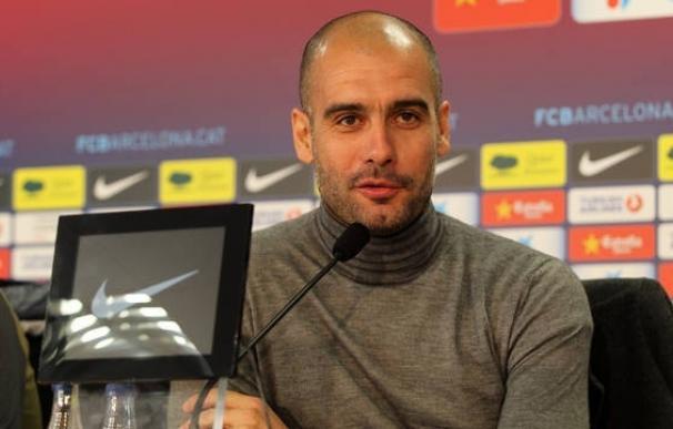 """Guardiola: """"Mi reto es que estos chicos alarguen esta racha un poco más"""""""
