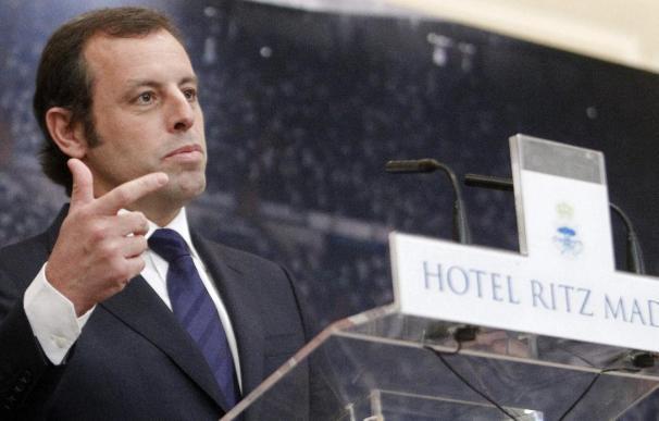 """Rosell cree que """"la cosa no pinta demasiado bien"""" con los arbitrajes al Barça"""
