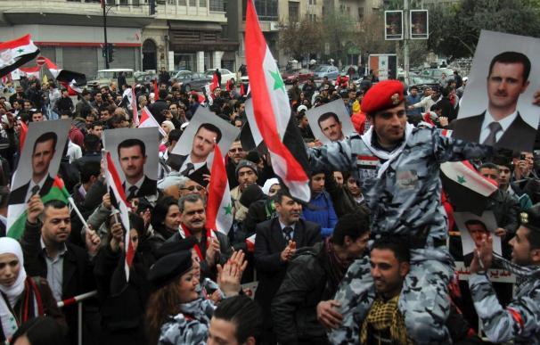 El Ejército sirio consolida sus posiciones en las afueras de Damasco
