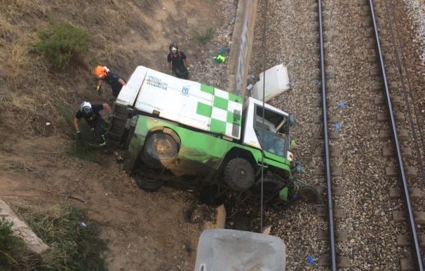 CSIF reclama una investigación a Inspección de Trabajo por el accidente del camión de Medio Ambiente
