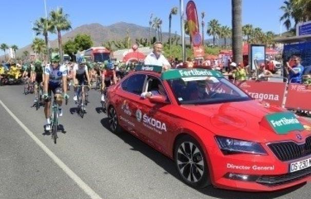 Skoda, coche oficial de la Vuelta Ciclista a España por séptimo año consecutivo