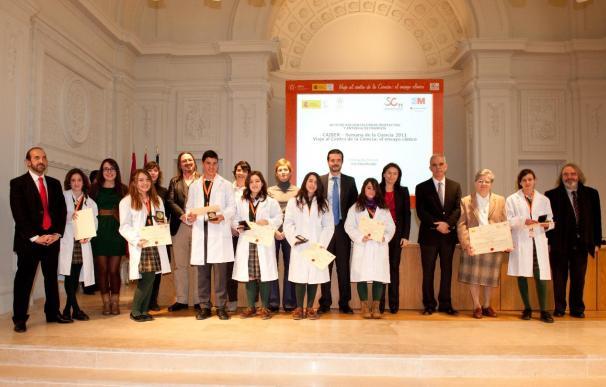 COMUNICADO: Una revista científica consigue el primer puesto en los Premios Caiber de la Semana de la Ciencia
