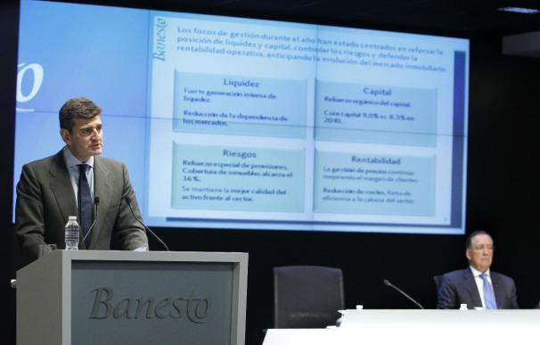 El Banco Santander ganó el 35 por ciento menos en 2011 por las fuertes provisiones