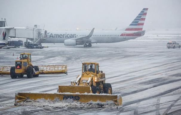 Estados Unidos cancela más de 500 vuelos a consecuencia de la ola de frío que atraviesa el país