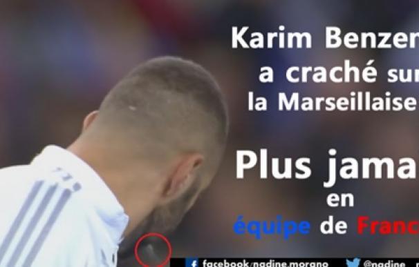 Benzema vuelve a estar rodeado de polémica. / Facebook